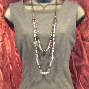 Gray sheath dress- closet staple